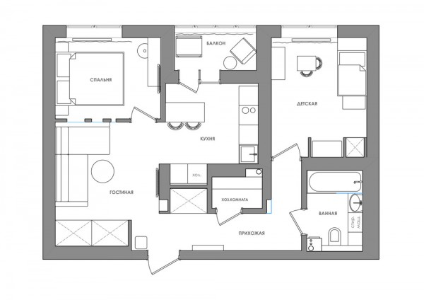 apartament_50_mp_plan